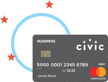 Civic FCU Business debit card